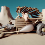 """Weekly CG Challenge #114: """"Ancient Technology"""""""