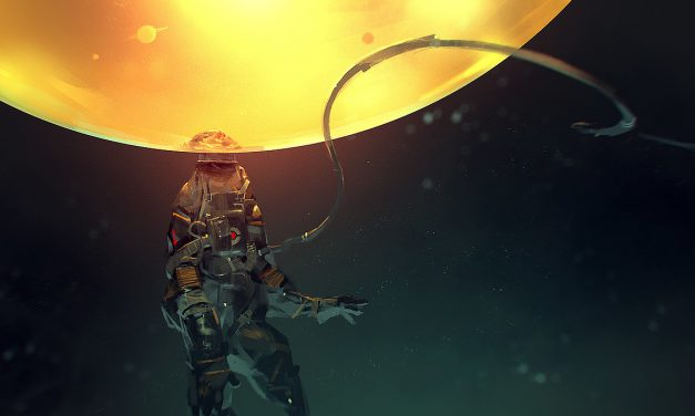"""Weekly CG Challenge #120: """"Lost in Space"""""""
